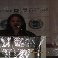 Dr.Bhavna at Dermatology Conference,Chicago,USA,