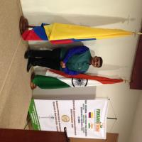 Dr.Gaurang Joshi at Embassy of India,Colombia