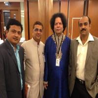 Dr.Gaurang at Int.Con.of Ayu. at Dubai as Speaker